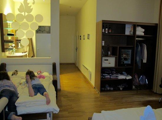 Hotel Rathaus Wein & Design: Bed area