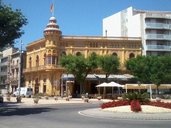Sant Feliu de Guixols, Spagna: Casino San feliu de Guixols