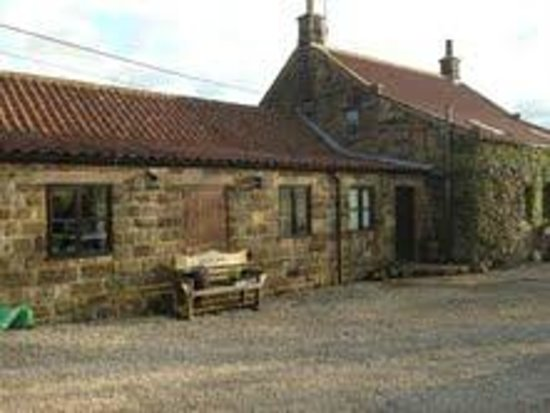 Ann's Cottage and The Old Smithy: Outside view of The Old Smithy