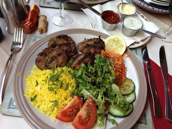 Casablanca: lamb koftas