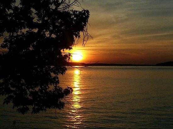 Elijah Clark State Park Sunset