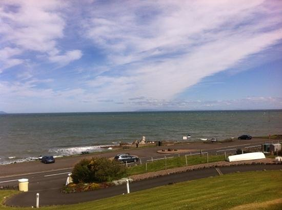 Ballygally Holiday Apartments : view from apartment 1