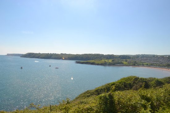 The Clifton At Paignton: View from Dartmouth steam railway