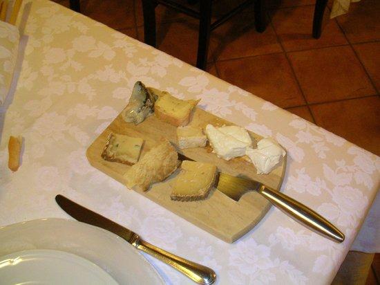 Trattoria Barba Toni: i formaggi