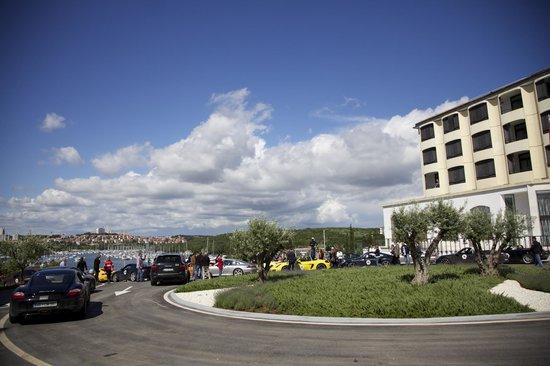 Park Plaza Histria Pula: Front side