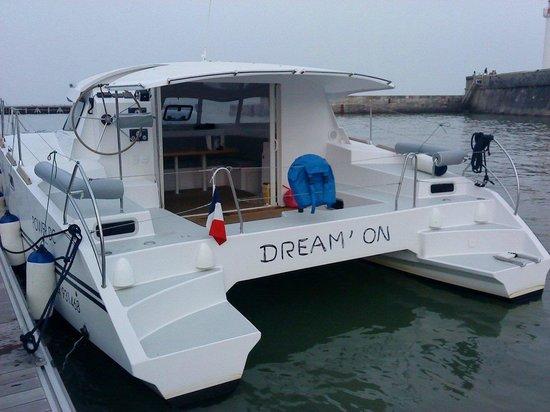 Dream'On Catamaran : L'arrière du Dream'On