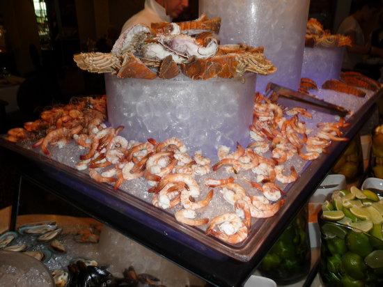 Movenpick Hotel Bahrain: Fresh shrimps