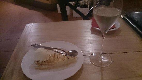 La Vineria : TORTA MELE SUPER + PROSECCO