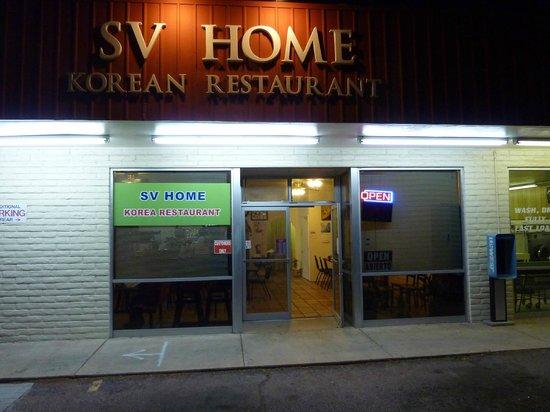 SV Home Korea Restaurant.  Across the street from the main entrance to Fort Huachuca.