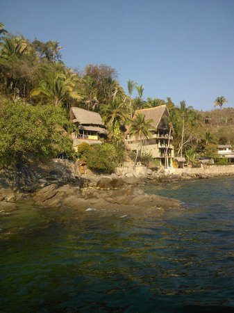 Casa Pericos: Vista del hotel