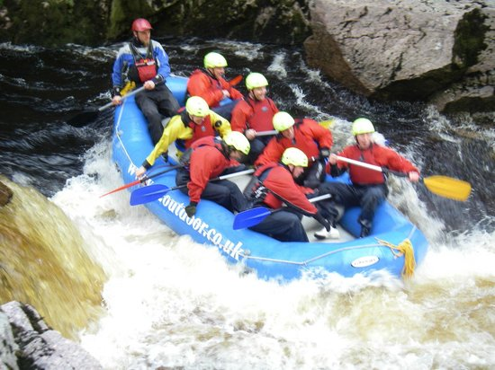 G2 Outdoor - Day Activities: Rafting on the mighty Findhorn