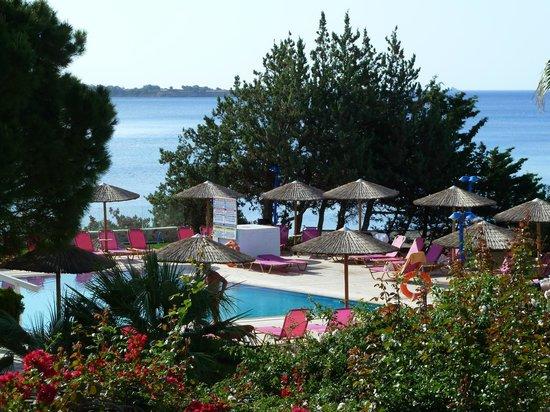 Seaside Sunrise Hotel : vue sur l'espace piscine
