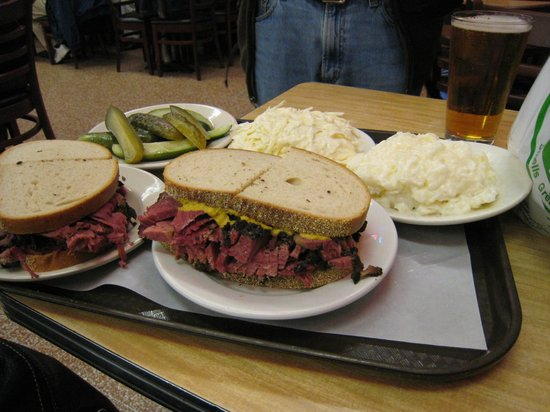 Tenement Museum : The guide recommended this deli - great for lunch!