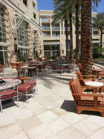 JW Marriott Phoenix Desert Ridge Resort & Spa: Patio