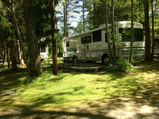 Bonnie Brae Cabins & Campsites: Big Rig Friendly up to 45ft