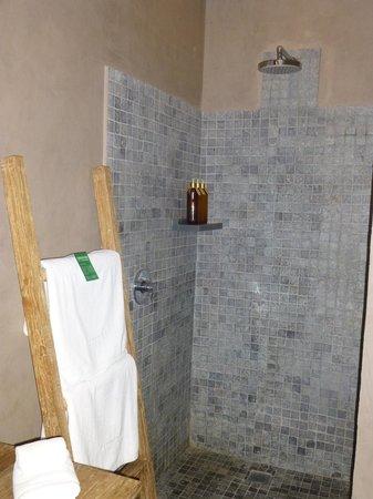 Mathis Retreat: douche dans la salle de bains