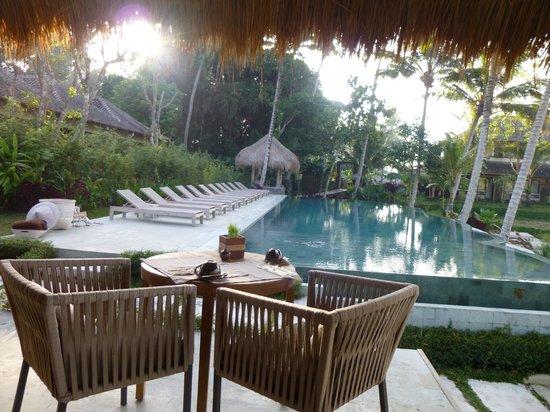 Mathis Retreat: vue du restaurant au petit dejeuner