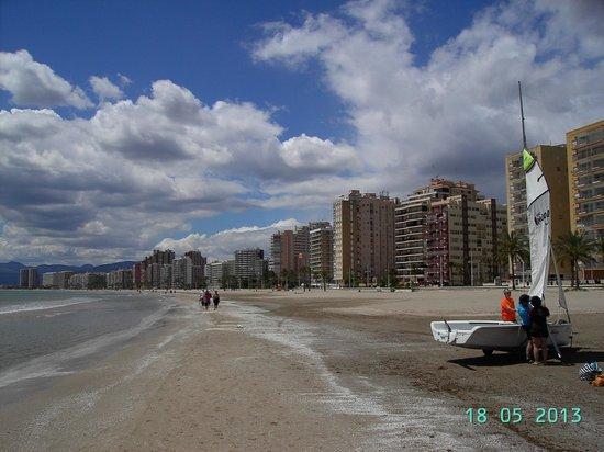 Hotel SantaMarta: playa