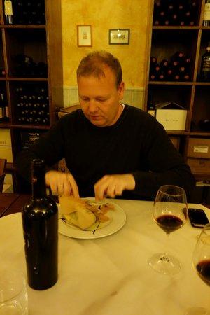 Ristorante Da Ciacco : The tarte of asparaghi