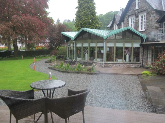 Rothay Garden Hotel: view from the spa