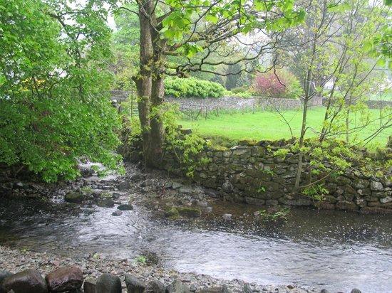 Rothay Garden Hotel: the river