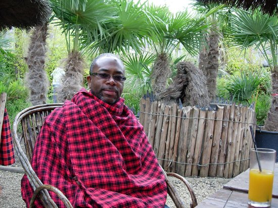 Akamba Garden Centre: Blankets, for when it gets a little chilly