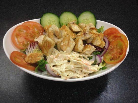 Capones: chicken salad