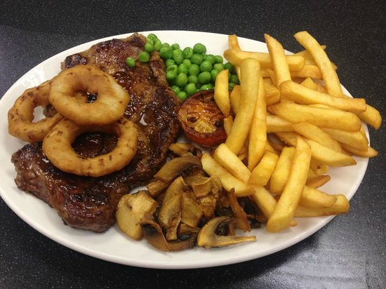 Capones: ribeye steak