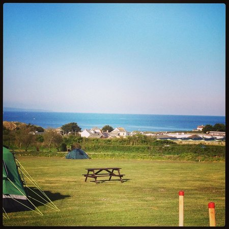 Cherry Tree Farm Campsite: Great view!!