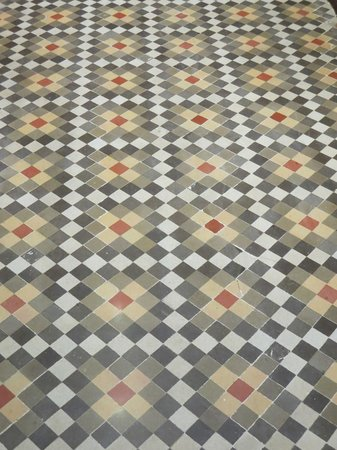 Aspasios Fuster Apartments : Floor tile