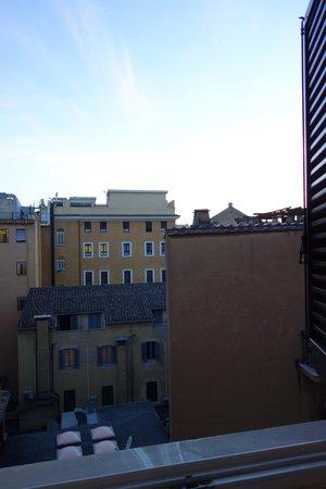 Hotel delle Nazioni: View from Room #502