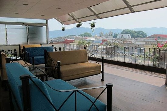 Hotel Casa Antigua : Comfortable seating on the Rooftop Deck