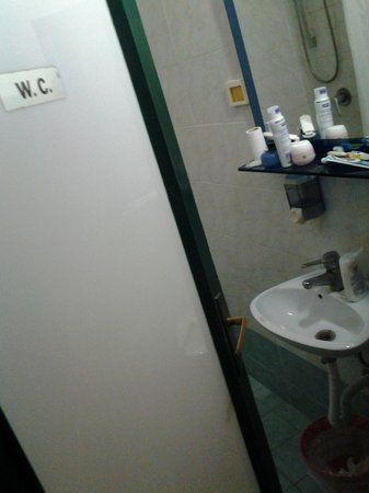 Hotel Etrusca : bagno