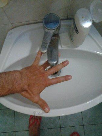 Hotel Etrusca : bagno lavandino