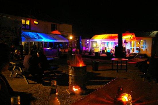 Crash Palace: Outdoor venue