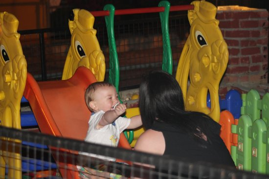 sincerity restaurant bar: The play area, my lad loved it