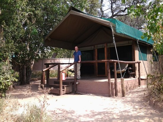 Elephant Valley Lodge: tent with a view