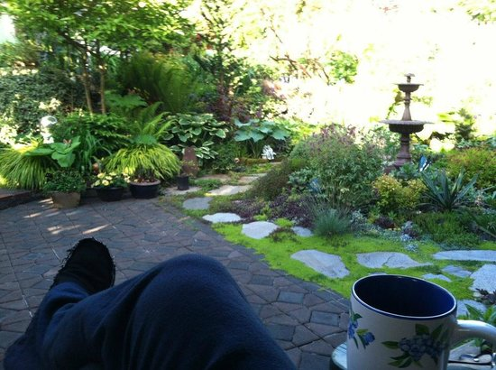 Geiger Victorian Bed & Breakfast: My morning cup.