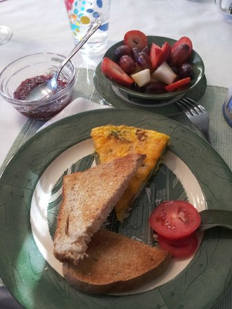 Olde Buffalo Inn B&B: Homemade breakfast