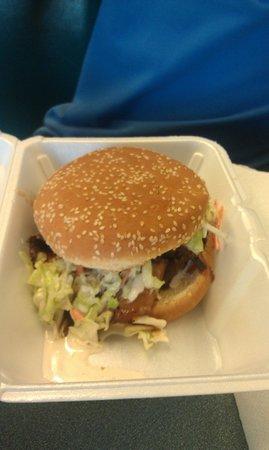 Pig Pit BBQ: Brisket Sandwich
