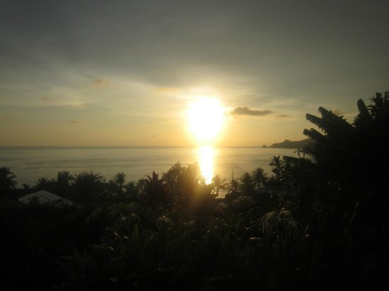 Novotel Phuket Resort: Sunset over Andaman Sea