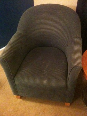 Holiday Inn Bristol Airport: noticeably dirty chair