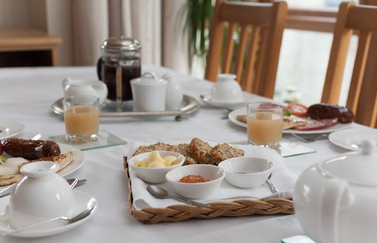 Strand House Bed and Breakfast: Freshly Cooked Irish Breakfast