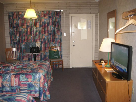 Galveston Island, Teksas: Our room