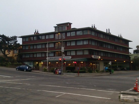 Seal Rock Inn: Taken just after 6am