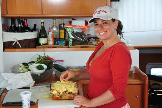 Food Motion Cooking Workshops: cheff alex onboard