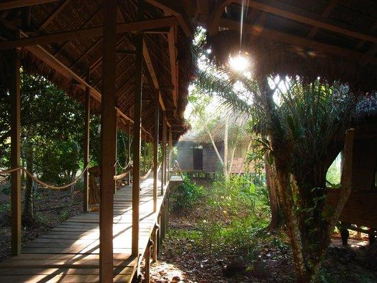 Sotupa Eco House: Gang zu einem Gästehaus