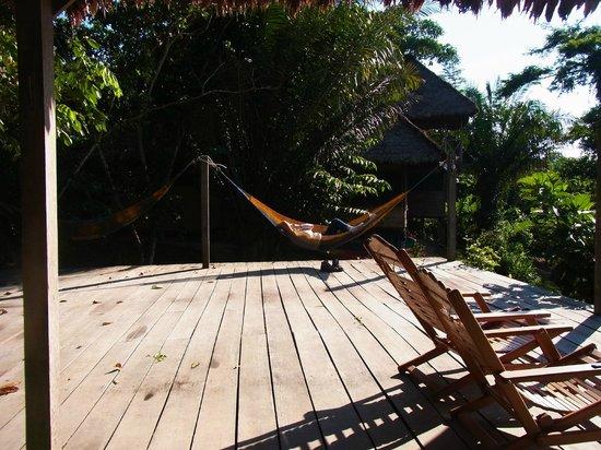 Sotupa Eco House: Terasse