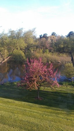 Best Western Spooner Riverplace: Room with a view!