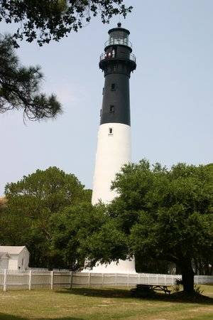 Hunting Island State Park Campground: Lighthouse (open to public for a fee)